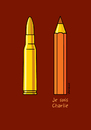 Cartoon: Je suis Charlie (small) by Vhrsti tagged charlie,hebdo,terrorists,killing,pencil,bullet