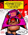 Cartoon: Pussy Dredd (small) by Russ Cook tagged 2000ad,judge,dredd,pussy,riot,russia,russian,free,speechmega,city,one,east,meg,sov,soviet,juve,juvenile,russ,cook,cartoon,illustration,caricature,digital,photoshop