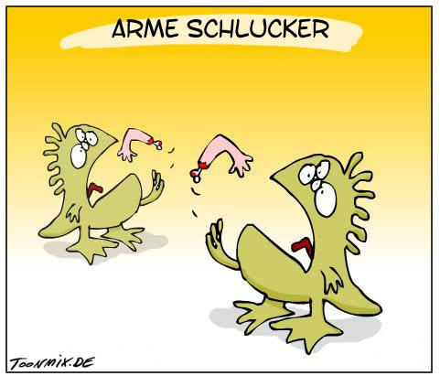 Cartoon: Arme Schlucker (medium) by Toonmix tagged arme,schlucker