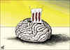 Cartoon: 111 YES (small) by samir alramahi tagged jordan arab ramahi cartoon democracy