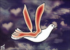 Cartoon: dove24 (small) by samir alramahi tagged dove,peace,ramahi,palestine,arab