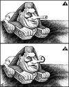 Cartoon: mubarak (small) by samir alramahi tagged arab,egypt,revelution,ramahi,cartoon