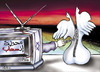 Cartoon: PEACE 05 (small) by samir alramahi tagged palestine,peace,israel,tv,ramahi,arab,dove
