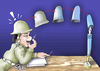Cartoon: Police ideas (small) by samir alramahi tagged police,ideas,freedom,arab,ramahi,jordan