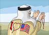 Cartoon: USA lover (small) by samir alramahi tagged arab,ramahi,usa,lover,politics