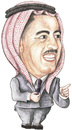 Cartoon: Wasfi Al-Tal Of jordan (small) by samir alramahi tagged jordan,portrait,wasfi,arab,ramahi