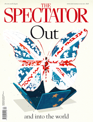 Cartoon: Out the World! (medium) by Erwin Pischel tagged brexit,spectator,uk,britannia,england,united,kingdom,great,britain,schmetterling,flagge,union,jack,fahne,eu,austritt,kokon,insekt,johnson,may,labour,party,tories,conservatives,parliament,parlament,unterhaus,oberhaus,brexiteer,bruessel,london,waehler,wahl,abstimmung,pischel