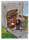 Cartoon: Frühwarnung (small) by spass-beiseite tagged zeugen,jehovas,sekte,glaube,beiseite,spass,unterhaltung,panel,fun,illustration,design,pointe,kunst,comicstrips,comictagebuch,tagebuch,comic,cartoons,cartoon,witz,bildwitz