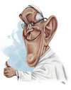 Cartoon: Francisco (small) by pe09 tagged pope