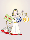 Cartoon: Im Namen des Volkswagen (small) by wista tagged vw,volkswagen,auto,betrug,skandal,abgas,software,gericht,justiz,manager,verantwortung,recht,unrecht,gerechtigkeit,gerichte,richter,konzerne,grosskonzerne,autoindustrie