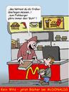 Cartoon: Mc-Lesen2 (small) by wista tagged mcdonalds,mcdonald,mac,donald,lesen,bücher,hamburger,happy,meal,klassiker,stiftung,fischburger,fishburger