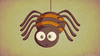 Cartoon: A random Spider (small) by kellerac tagged spider,arana,cute,cartoon,kellerac,nature,animal