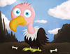 Cartoon: The vulture (small) by kellerac tagged vulture,cartoon,mariakeller,maria,keller,kellerac,mexico