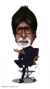 Cartoon: Amitabh Bachan (small) by shijo varghese tagged amitabhbachan