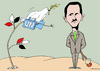 Cartoon: Ambassador of peace (small) by Dubovsky Alexander tagged peace,ambasador,syria,krisis,unaited,nations