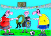 Cartoon: capitans (small) by Dubovsky Alexander tagged footbal,euro,2012,capitans