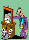 Cartoon: Elections (small) by Dubovsky Alexander tagged rusland,election,voter,poll