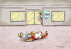 Cartoon: Office UEFA (small) by Dubovsky Alexander tagged football,euro,2012