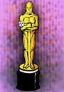 Cartoon: Oscar (small) by Dubovsky Alexander tagged oskar,cinema,awards