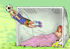 Cartoon: Soccer pleasure (small) by Dubovsky Alexander tagged football,euro,2012,pleasure