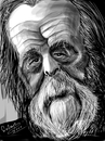 Cartoon: Aleksandr Solzhenitsyn (small) by cabap tagged caricature,ipad