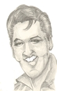 Cartoon: Caricature from Elvis (small) by cabap tagged caricature