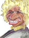 Cartoon: Celia Cruz (small) by cabap tagged caricature