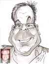Cartoon: Chris Berg (small) by cabap tagged caricature