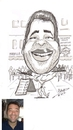 Cartoon: javier (small) by cabap tagged caricature