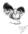 Cartoon: Karl Malden (small) by cabap tagged caricature,ipad