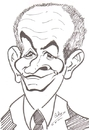 Cartoon: Louis de Funes (small) by cabap tagged caricature
