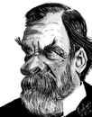 Cartoon: Louis Pasteur (small) by cabap tagged ipad,caricature