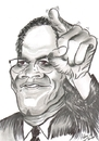 Cartoon: Malcolm Little !!! (small) by cabap tagged caricature