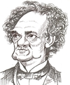 Cartoon: P.T. Barnum (small) by cabap tagged caricature