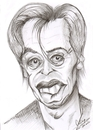 Cartoon: Steve Buscemi (small) by cabap tagged caricature