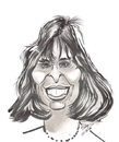 Cartoon: Talia Shire (small) by cabap tagged caricature