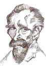 Cartoon: Vincent van Gogh (small) by cabap tagged caricature