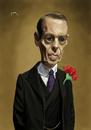 Cartoon: Nucky (small) by szomorab tagged steve buscemi nucky thompson caricature boardwalk empire