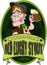 Cartoon: Beer Label (small) by PATMOJOE tagged beer,label,oconnell,lucky,stout
