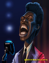 Cartoon: Eddie Murphy (small) by tobo tagged caricature