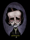 Cartoon: Edgar Allan Poe (small) by tobo tagged caricature poe