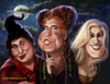 Cartoon: Hocus Pocus (small) by tobo tagged bettemidler sarahjessicaparker kathynajimy