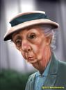 Cartoon: Miss Marple 1 (small) by tobo tagged joan,hickson