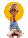 Cartoon: Norman Rockwell (small) by tobo tagged caricature