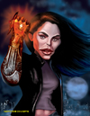 Cartoon: Witchblade (small) by tobo tagged witchblade