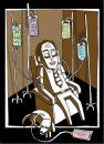 Cartoon: Injections (small) by Holger Herrmann tagged tropf,injektion,entspannung,