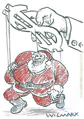 Cartoon: Natal (medium) by Wilmarx tagged capitalismo,christmas