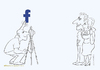 Cartoon: Look at the Facebook (small) by Wilmarx tagged behavior,facebook