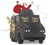 Cartoon: Santa Claus in Rio (small) by Wilmarx tagged santa,claus,violence,drugs,rio