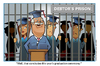 Cartoon: Student Debt in the USA (small) by carol-simpson tagged debt,students,usa,debtors,prison